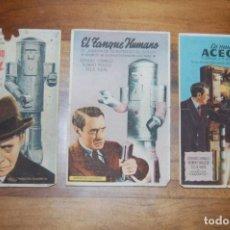 Cine: EL MISTERIOSO DR.SATÁN 1943 (3 JORNADAS). TEATRO CHAPÍ. Lote 171063724