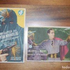 Cine: AVENTURAS DEL CAPITÁN MARAVILLAS (DOS JORNADAS) TEATRO GALINDO AÑO 1944. Lote 171064330