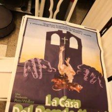 Cine: POSTER ORIGINAL CINE: LA CASA DEL PECADO MORTAL - 70X100 - PETE WALKER - 1976 - TERROR. Lote 171133259