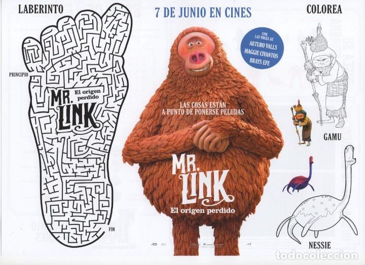 MR. LINK, EL ORIGEN PERDIDO (Cine - Folletos de Mano - Infantil)