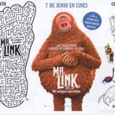Cine: MR. LINK, EL ORIGEN PERDIDO. Lote 171154448