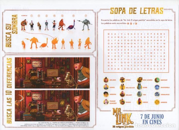 Cine: MR. LINK, EL ORIGEN PERDIDO - Foto 2 - 171154448