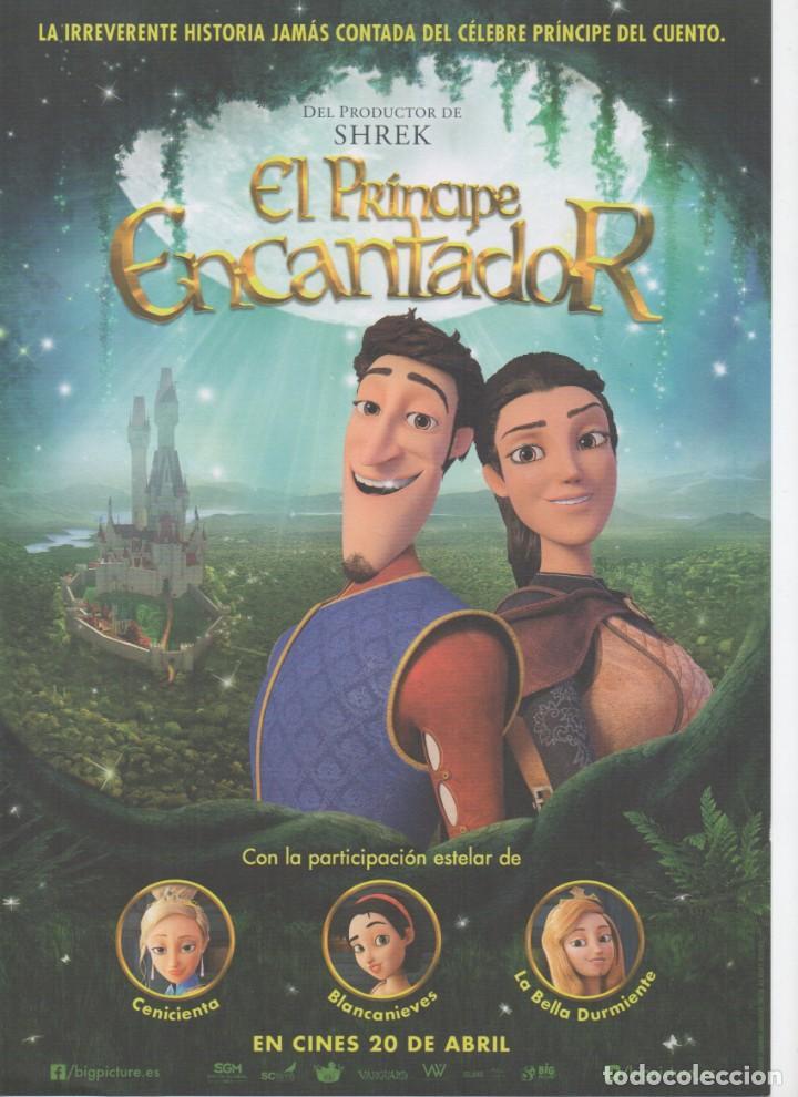 EL PRÍNCIPE ENCANTADOR (Cine - Folletos de Mano - Infantil)