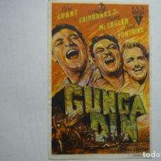 Cine: PROGRAMA GUNGA DIN - CARY GRANT. Lote 171170144