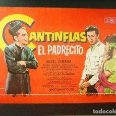 Flyers Publicitaires de films Anciens: EL PADRECITO-MIGUEL M. DELGADO-MARIO MORENO CANTINFLAS-ANGEL GARASA-MAC-SALA EDISON-FIGUERAS-1966. . Lote 171183025