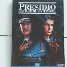 Foglietti di film di film antichi di cinema: PRESIDIO,B.S.O.(SEAN CONNERY)DVD DEL 2004. Lote 171314734