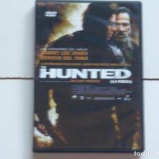 Foglietti di film di film antichi di cinema: THE HUNTED,LA PRESA(TOMMY LEE JONES)B.S.O. DVD DEL 2003. Lote 171351305