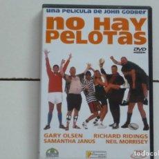 Flyers Publicitaires de films Anciens: NO HAY PELOTAS,B.S,O, DVD DEL 2000. Lote 171360208