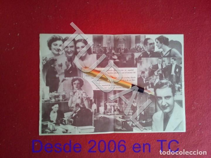 Cine: TUBAL CINE VILASSAR TRES AMORES LAEMMLE, UNIVERSAL JOSE CRESPO Y MONA MARIS 1930s PROGRAMA DE MANO - Foto 2 - 171371499