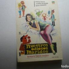 Cine: PROGRAMA NUESTROS ODIOSOS MARIDOS-ROSITA ARENAS. Lote 171372512