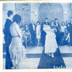 Cine: LOS CLAVELES DE LA VIRGEN. DÉCADA DE 1930. SENCILLO. TARJETA. IMPERIO ARGENTINA. KURSAAL DE ELCHE. . Lote 171454779