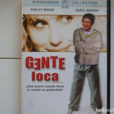 Flyers Publicitaires de films Anciens: GENTE LOCA(DUDLEY MOORE)B.S.O. DVD DEL 2004. Lote 191278691