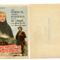 Cine: UN HOMBRE VA POR EL CAMINO, CON ANA MARISCAL. S/I.. Lote 171711127