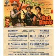Cine: RIO BRAVO, CON JOHN WAYNE.,. Lote 171712603