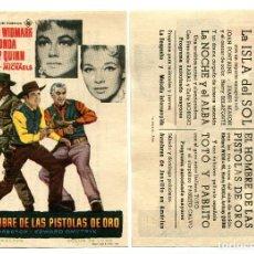 Cine: EL HOMBRE DE LAS PISTOLAS DE ORO, CON HENRY FONDA.. Lote 171712654