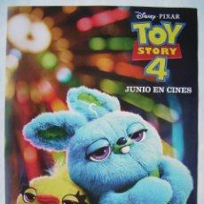 Cine: TOY STORY 4. ANIMACIÓN. 29,5 X 42 CMS.. Lote 171749747