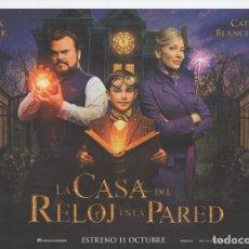 Cine: LA CASA DEL RELOJ EN LA PARED. Lote 171786900