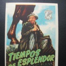 Cine: TIEMPOS DE ESPLENDOR. Lote 171817513