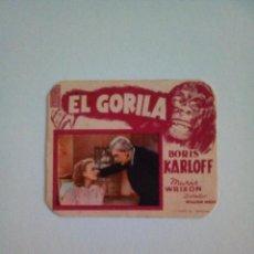 Cine: EL GORILA 1, BORIS KARLOFF. Lote 172090253