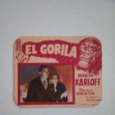 Cine: EL GORILA 2. BORIS KARLOFF. Lote 172090480