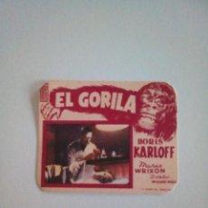 Cine: EL GORILA 3. BORIS KARLOFF. Lote 172090725