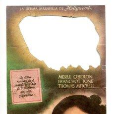 Cine: AGUAS TURBIAS, CON MERLE OBERÓN. . Lote 172118007