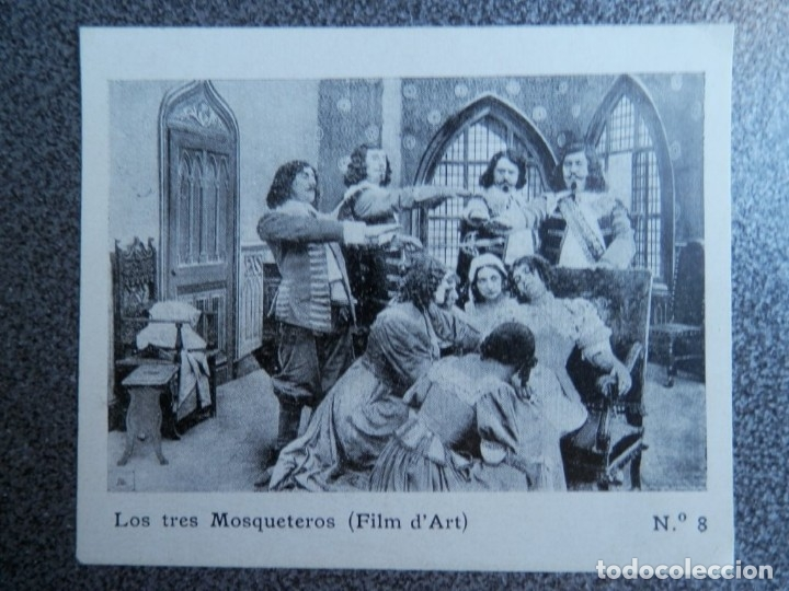 RARÍSIMO PROGRAMA CINE LOS TRES MOSQUETEROS AÑO 1913 ESTRENO TEATRO PRINCIPAL ZARAGOZA (Cine - Folletos de Mano - Acción)