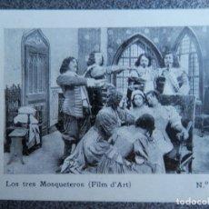 Cine: RARÍSIMO PROGRAMA CINE LOS TRES MOSQUETEROS AÑO 1913 ESTRENO TEATRO PRINCIPAL ZARAGOZA. Lote 172253204