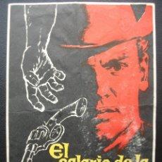 Flyers Publicitaires de films Anciens: EL SALARIO DE LA VIOLENCIA, VAN HEFLIN. Lote 172353777