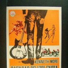 Cine: RAFAGAS DE VIOLENCIA-LOS TEDDY BOYS-CLIVE DONNER-KENNETH MORE-ILUSTRA JANO-TEATRO GALINDO-CIEZA-1968. Lote 181405721