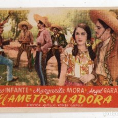 Cine: EL AMETRALLADORA. PEDRO INFANTE, MARGARITA MORA, ANGEL GARASA.... Lote 172630894
