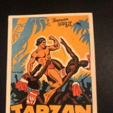 Cine: PROGRAMA TARZAN EN LA CIUDAD MUERTA.HERMAN BRIX.CON PUBLICIDAD. Lote 172795315