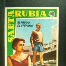 Cine: SAETA RUBIA-JAVIER SETO-ALFREDO DI STEFANO-DONATELLA MARROSU-MARY LAMAR-JACINTO QUINCOCES-AÑOS 60. . Lote 173020538