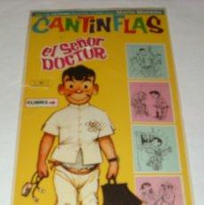 Cine: CANTINFLAS- EN SEÑOR DOCTOR - ORIGINAL 1967, SIN CINE, 28,5 X 14 - LEER ENVIOS. Lote 173078117