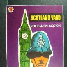 Cine: SCOTLAND YARD-POLICIA EN ACCION-HECHOS VERIDICOS SENSACIONALES LA HISTORIA DEL CRIMEN-MAC-AÑOS 60. . Lote 173198032