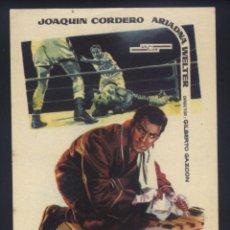Cine: P-8232- EL BOXEADOR (JOAQUÍN CORDERO - ARIADNA WELTER- ARTURO MARTINEZ). Lote 173485214