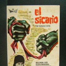 Cine: EL SICARIO-DAMIANO DAMIANI-BELINDA LEE-SILVA KOSCINA-SERGIO FANTONI-ESC-TEATRO GALINDO-CIEZA-1967.. Lote 181404808