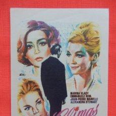 Cine: CLIMAS, IMPECABLE SENCILLO, MARINA VLADY, CON PUBLI CINE VERSALLES PALACE 1970. Lote 173663042