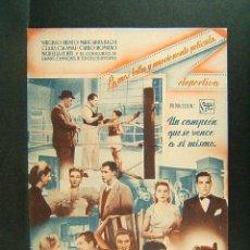 Cine: SU MEJOR VICTORIA-MARIO BONNARD-EVA MALTAGLIATI-HERMINIO SPALLA-VIRGILIO RIENTO-AÑOS 40.. Lote 173808333