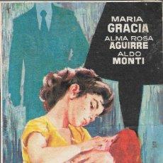 Cine: PROGRAMA DE CINE - LOS HIJOS AJENOS - MARIA GRACIA - CINE CAPITOL, DUQUE Y TERRAZA (MÁLAGA) - 1959.. Lote 173833848