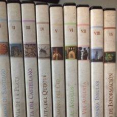 Cine: DVD RUTAS DE ESPAÑA - COLECCIÓN DE 9 DVD - EDITORIAL PLANETA. Lote 173836414