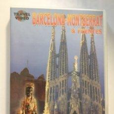 Cine: DVD BARCELONA - MONTSERRAT - TRAVEL VIDEO. Lote 173849039
