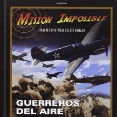 Cine: MISION IMPOSIBLE * LIBRO DVD * GUERREROS DEL AIRE * BBC * LIBRO TAPAS DURAS + DVD PRECINTADO!!. Lote 173964579