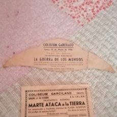 Cine: LA GUERRA DE LOS MUNDOS Y MARTE ATACA LA TIERRA. Lote 173965448