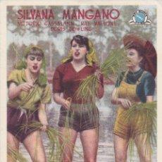 Cine: ARROZ AMARGO SILVANA MANGANO. Lote 174006168