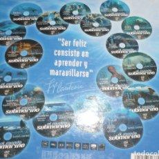 Flyers Publicitaires de films Anciens: EL MUNDO SUBMARINO.POR JACQUES COUSTEAU.CAJA ORIGINAL COLECCIÓN COMPLETA.. Lote 174007377