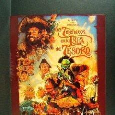 Cine: LOS TELEÑECOS EN LA ISLA DEL TESORO-WALT DISNEY PICTURES-AÑOS 90.. Lote 174027085