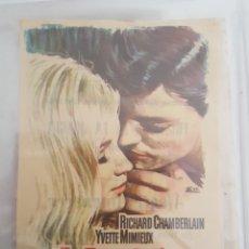 Cine: FOLLETO DE MANO / ALEGRE AMANECER / CINE NAPOLES 16/4/1967. Lote 174036383