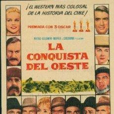 Cine: LA CONQUISTA DEL OESTE (CON PUBLICIDAD). Lote 174102177