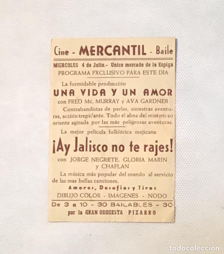 Cine: ¡ AY JALISCO NO TE RAJES ! FOLLETO ANTIGUO DE CINE - Foto 2 - 174149058